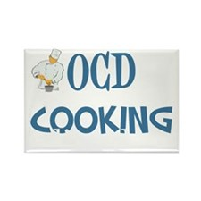 obsessivecookingdisorderwh Rectangle Magnet
