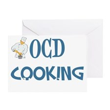 obsessivecookingdisorderwh Greeting Card