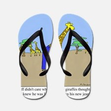 Giraffe Jeans Flip Flops