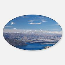 Hang Gliders above Lake Wanaka, Sou Decal