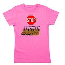Stop the Violins.gif Girl's Tee