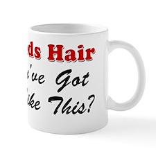 Who Needs Hair Small Mug