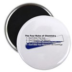4 Rules Of Chemistry Magnet