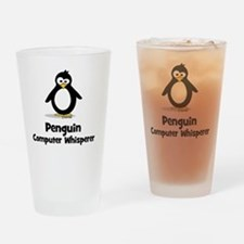 Penguin Computer Wh... Drinking Glass