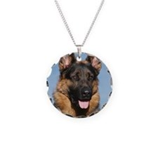 German Shepherd Dog 9Y554D-1 Necklace