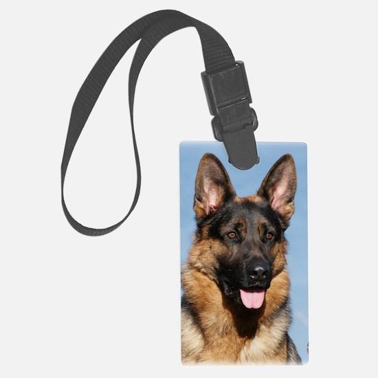 German Shepherd Dog 9Y554D-150 Large Luggage Tag