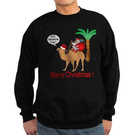 Hump Day Camel Merry Christmas Sweatshirt