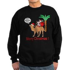 Hump Day Camel Merry Christmas Sweatshirt