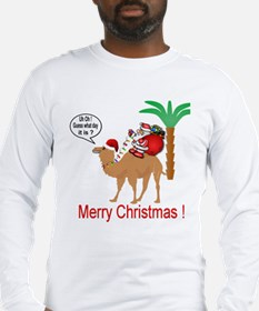 Hump Day Camel Merry Christmas Long Sleeve T-Shirt