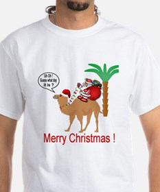 Hump Day Camel Merry Christmas T-Shirt