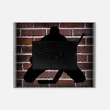 Hockie Goalie Brick Wall Picture Frame