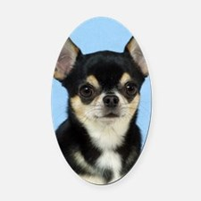 Chihuahua 9W092D-057 Oval Car Magnet