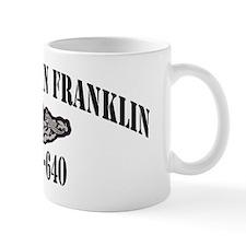 bfranklin black letters Mug