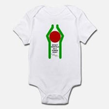 """INTACT...HUMAN RIGHT"" Infant Bodysuit"
