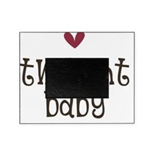 MauveHeart TwiBaby Picture Frame