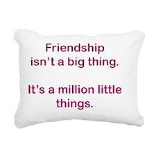 friendship_rnd2 Rectangular Canvas Pillow