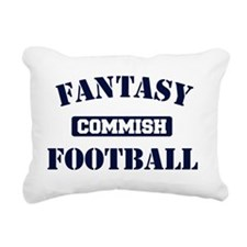 Fantasy-Football-Commish Rectangular Canvas Pillow