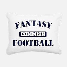 Fantasy-Football-Commish Rectangular Canvas Pillow