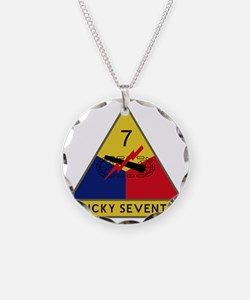 7th Armored Division - Lucky Necklace