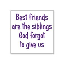 """bestfriends3 Square Sticker 3"""" x 3"""""""