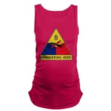 8th Armored Division - Thunderi Maternity Tank Top