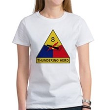 8th Armored Division - Thundering  Tee