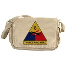 8th Armored Division - Thundering He Messenger Bag