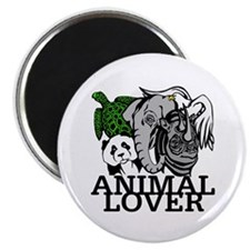 Animal Lover Collage Magnet
