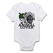 Animal Lover Collage Infant Bodysuit