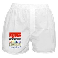 Level42 Classic Wembley86 front Boxer Shorts