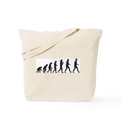 Evolution-Alien Tote Bag