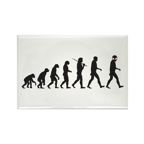 Evolution-Alien Rectangle Magnet