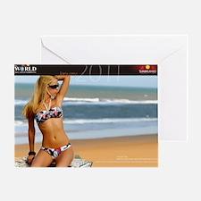 SunCal-Inside Jan Greeting Card