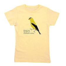 american goldfinch Girl's Tee