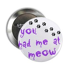 "you had me at meow 2.25"" Button"