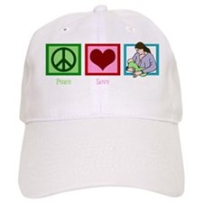 peacelovebreastfeedingwh Baseball Baseball Cap