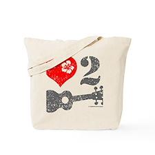 Love 2 Ukulele Tote Bag