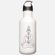 kundalini-black Water Bottle