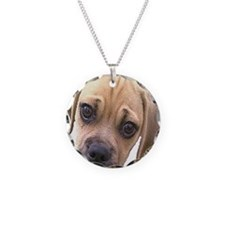 pugglepic Necklace Circle Charm