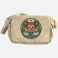 bear-rn-T Messenger Bag