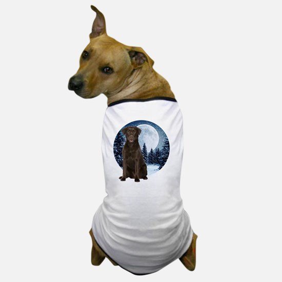 Winter CLab Shirt Dog T-Shirt