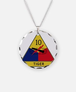 10th Armored Division - Tige Necklace