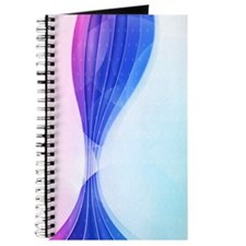Pink Blue Wave (4G slider) Journal