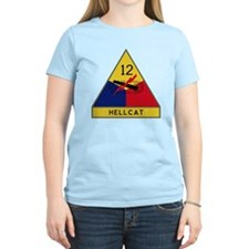 12th Armored Division - Hell T-Shirt