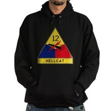 12th Armored Division - Hellcat Hoodie