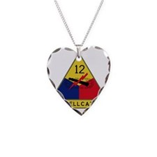 12th Armored Division - Hellc Necklace