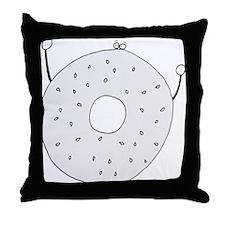 Bagel - cafe Throw Pillow