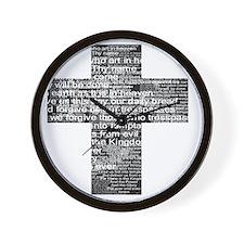 LordsPrayer Wall Clock