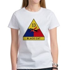 13th Armored Division - Black Cat Tee