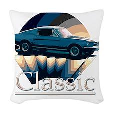Mustang Woven Throw Pillow